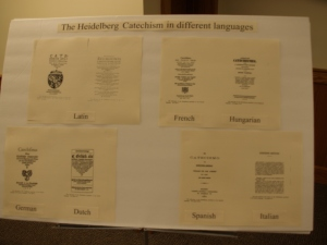 Special display of the HC in different languages