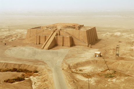 4,000 year old ziggurat in Ur