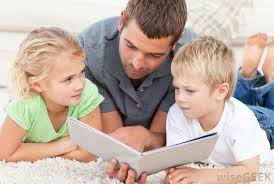 Reading 2 children-1