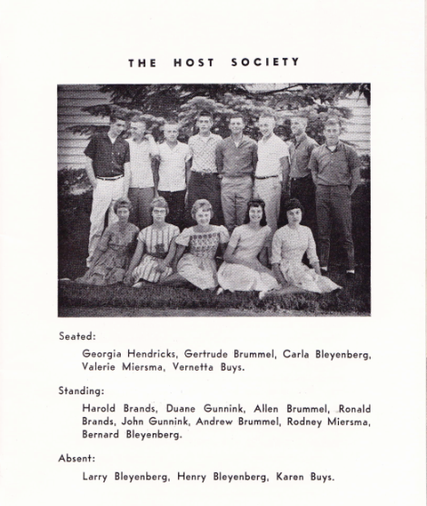 The host society - Edgerton PRC young people