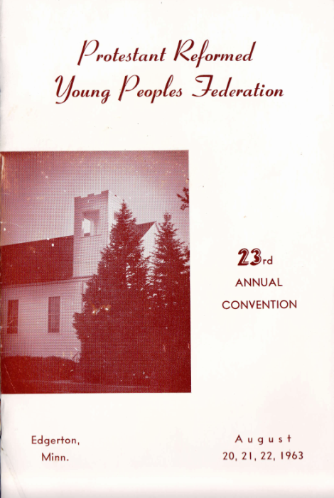 Cover of the 1963 PRYP's Convention Booklet