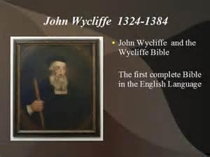JWycliffe-Bible