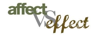 effect-affect